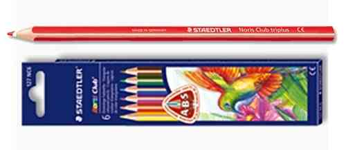 LÁPICES STAEDTLER® Noris Club® triplus®  Box 6 Colores