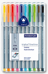 ROTULADOR STAEDTLER® triplus®  fineliner Box 10 colores