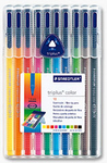 ROTULADOR STAEDTLER® triplus®  color Box 10 colores