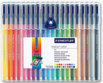 ROTULADOR STAEDTLER® triplus®  color Box 20 colores